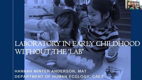 Thumbnail for entry SITT 2021 - Laboratory in Early Chilldhood without the Lab
