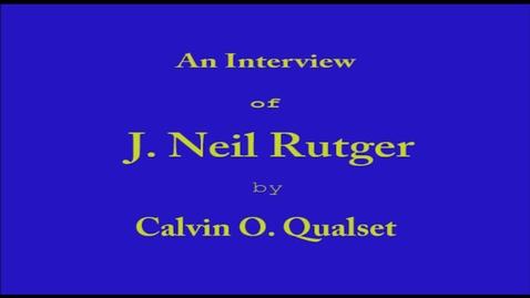 Thumbnail for entry J. Rutger