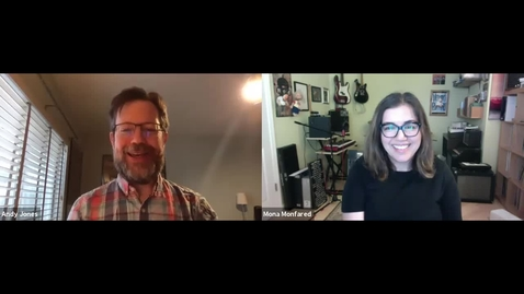 Thumbnail for entry SITT 2020 Interview: Andy Jones and Mona Monfared