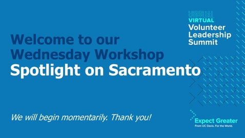 Thumbnail for entry Spotlight on Sacramento
