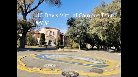 Thumbnail for entry UCD-MCIP_Campus Tour