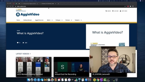 Thumbnail for entry Make Shorter Video Segments in Aggie Video