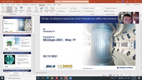 Thumbnail for entry Electron Cyclotron Radiation modeling in the plasma