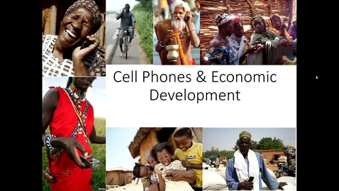 Thumbnail for entry ARE/ECN 115A:  Cell Phones & Development