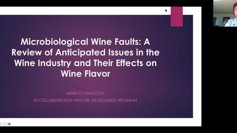 Thumbnail for entry VEN290  - Microbiological Wine Faults