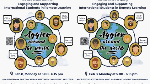 Thumbnail for entry CEE Graduate Student Workshop - Engaging and Supporting International Students in Remote Learning