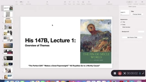 Thumbnail for entry His 147B Lecture 1: Overview
