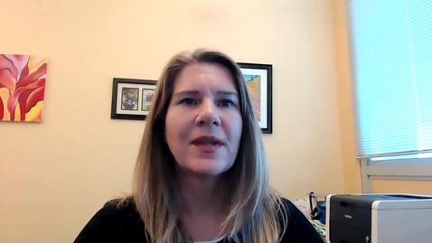Thumbnail for entry Faculty Profile - Gitta Coaker