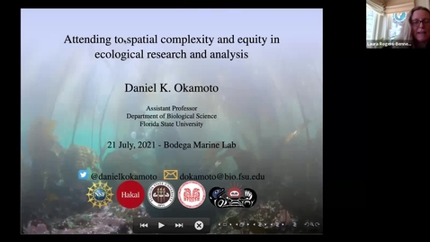 Thumbnail for entry BML - Dr. Daniel K. Okamoto: Attending to spatial complexity and equity in marine ecological research and conservation