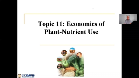 Thumbnail for entry Clip of Nutrient Interactions and Economics Ch 11 June 2 Lecture