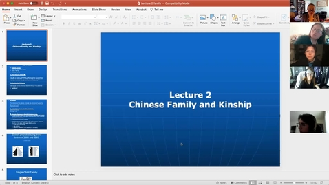 Thumbnail for entry China Lecture Recording 2