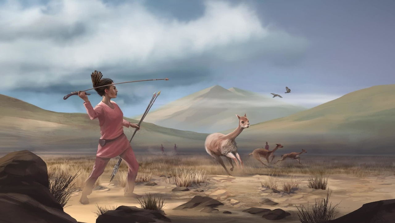 The Art of Science: Female Hunters of the Early Americas