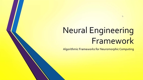Thumbnail for entry Meeting 5-18-21: Neural Engineering Framework