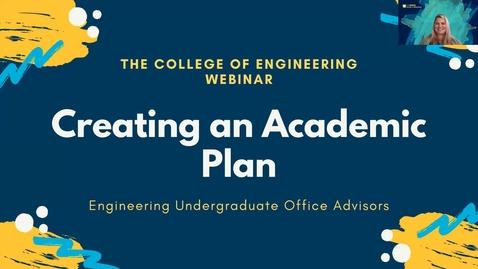 Thumbnail for entry CoE 2021 NS Webinar - creating an academic plan
