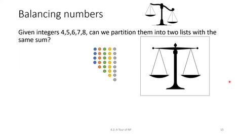 Thumbnail for entry ECS 220 2a:4.2-3 Integer-Partitioning and Subset-Sum