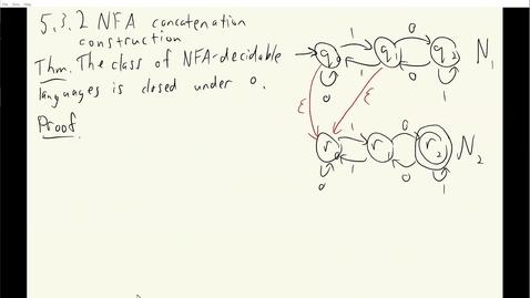 Thumbnail for entry ECS 120 3c:3 NFA concatenation proof