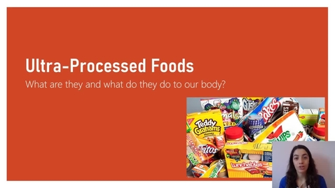 Thumbnail for entry Ultraprocessed foods