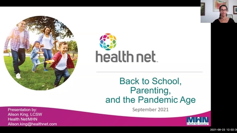 Thumbnail for entry Back to School, Parenting and the Pandemic Age