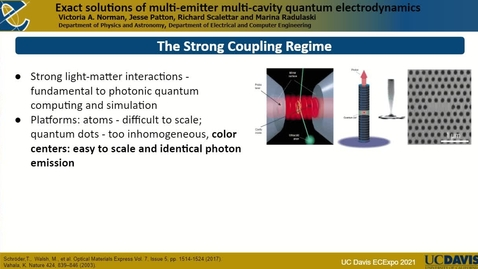 Thumbnail for entry Nanophotonic Devices in 4H-SiC with Integrated Color Centers for Quantum Information Processing