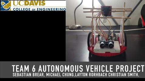 Thumbnail for entry Team 6 Autonomous Vehicle