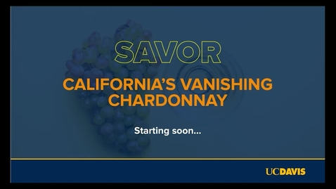 Thumbnail for entry Esther Mobley, Dan Petroski & Elisabeth Forrestel // Savor: California's Vanishing Chardonnay