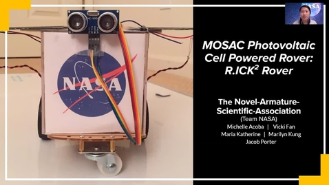 Thumbnail for entry MOSAC Photovoltaic Cell Powered Rover: R.ICK2 Rover