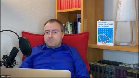 Thumbnail for entry 2020-11-09: Weak LP duality theorem (MAT 168 Optimization)