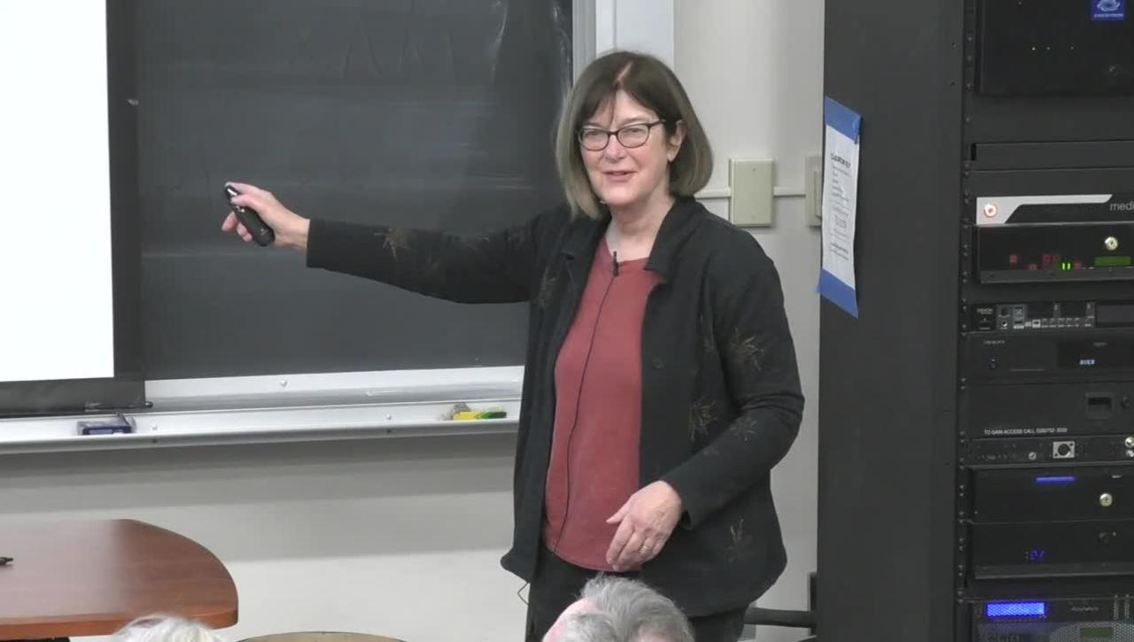 Storer Lecture - Mary Power - February 21, 2019