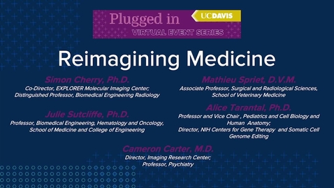 Thumbnail for entry Reimagining Medicine: Breakthroughs in Imaging
