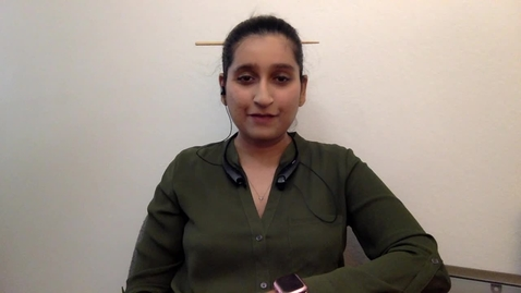 Thumbnail for entry Student talk_Marwa Zafarullah, current IGG student, Video Graduate School