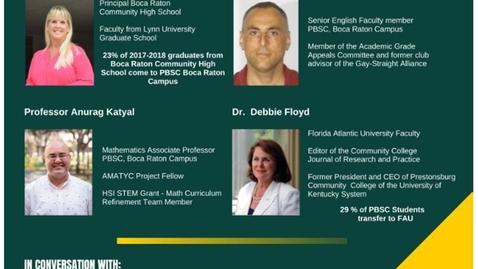 Thumbnail for entry Spring 2020 Student Retention Summit Boca Raton Part 1
