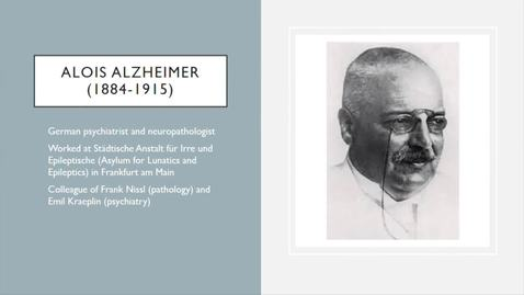 Thumbnail for entry Lunch and Learn - Alzheimer's
