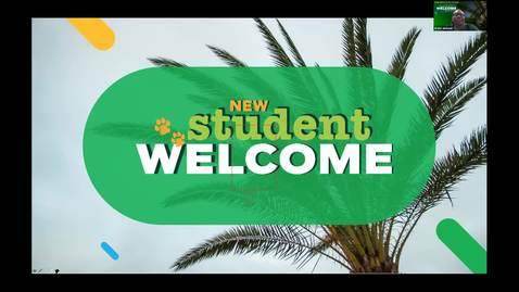 Thumbnail for entry New Student Welcome - Fall 2020
