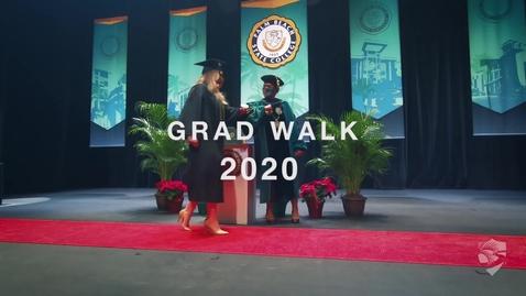 Thumbnail for entry Grad Walk 2020