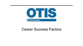 Thumbnail for entry GEB1011: United Technologies | OTIS - David Osowiski