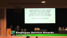 Thumbnail for entry PBSC Employee Service Awards