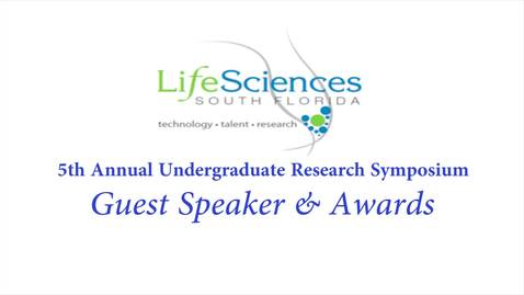 Thumbnail for entry LSSF Undergraduate Research Symposium: Closing & Awards