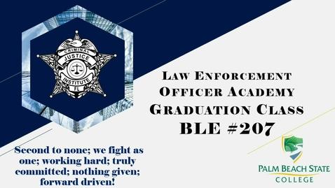Thumbnail for entry BLE 207 Graduation - 03.03.2021