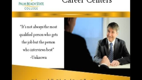 Thumbnail for entry PBS  CareerFair