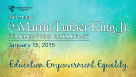 Thumbnail for entry MLK Celebration Breakfast  2015