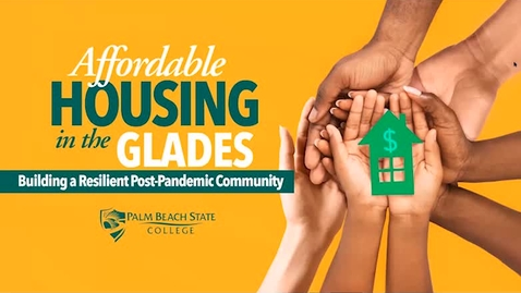 Thumbnail for entry PBSC: Affordable Housing in the Glades - 10.29.20