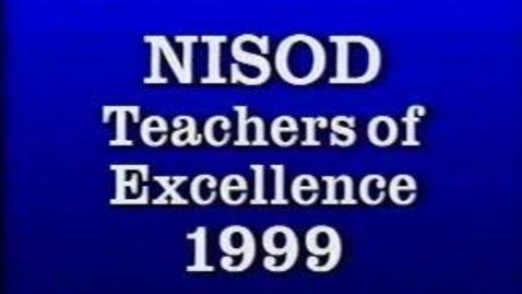 Thumbnail for entry 5-13169 Palm Beach Community College NISOD Teacher of Excellence 1999