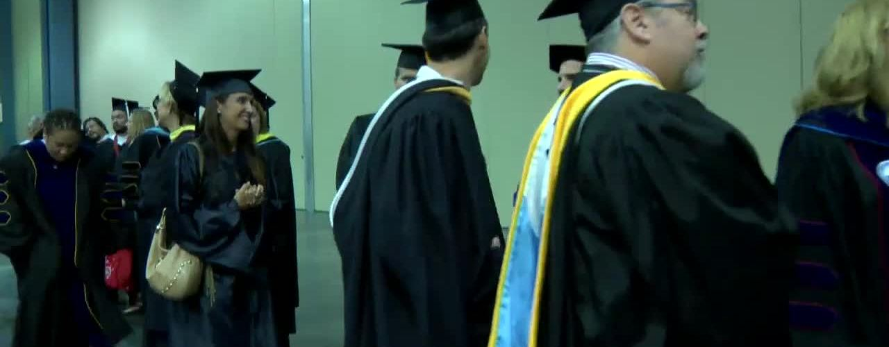 Fall 2016 Commencement Ceremony Afternoon Session