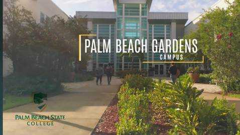 Thumbnail for entry Palm Beach Gardens campus promo video - updated