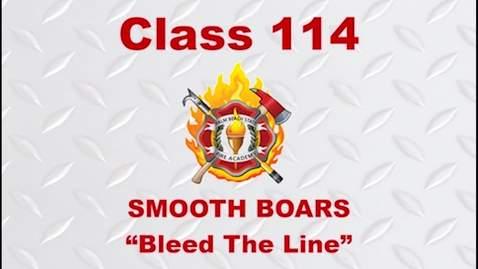 Thumbnail for entry 9-14 - 2020 Fire Academy Graduation  - Class 114