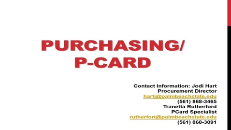 Thumbnail for entry Purchasing Info