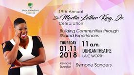 Thumbnail for entry 19th Annual Dr. Martin Luther King, Jr. Celebration 2018