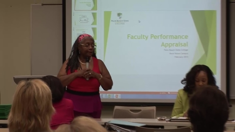 Thumbnail for entry FPAW - Faculty Performance Appraisal