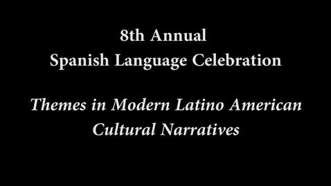 Thumbnail for entry Themes in Modern Latino American Cultural Narratives