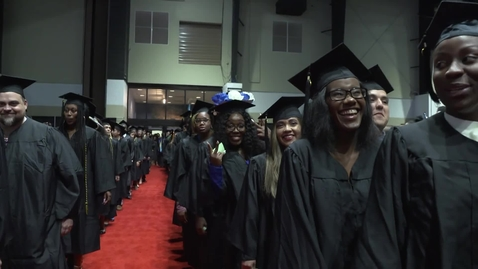 Thumbnail for entry Fall 2019 Commencement - Afternoon Ceremony